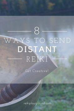 8 Ways to send distant Reiki! Discover fun ways to get creative with your distant Reiki! Was Ist Reiki, Chakras Reiki, Usui Reiki, Reiki Courses, Reiki Room, Reiki Therapy, Learn Reiki, Reiki Practitioner, Spirituality