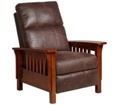 Palance Sable Bonded Leather 3-Way Recliner Chair | 55DowningStreet.com