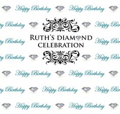 Best of Step Repeat Backdrops December 2015 - Ruth's Diamond Celebration