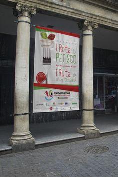 """Con motivo del Día de Portugal en Extremadura, el Gobierno de Extremadura encargó a RC&Media la creación de una imagen para promocionar la I Ruta del Petisco. El """"pestico"""" es como se conoce en el país luso a las """"tapas"""" o """"pinchos"""", y los bares de la ciudad de Badajoz homenajearon a esta tradición con los sabores portugueses en sus establecimientos."""