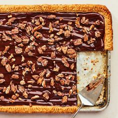 These autumnal desserts include our best recipes for ginger-molasses cookies, apple crisp, pecan pie, pumpkin bread, spice cake and more fall favorites. Pecan Recipes, Pie Recipes, Dessert Recipes, Party Recipes, Pumpkin Recipes, Dessert Ideas, Pie Dessert, Dessert For Dinner, Chocolate Cookies