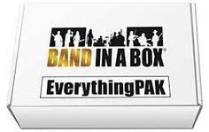 Magnífic BandInABox EverythingPak. Realment sorprenent crear una pila de bons acompanyaments