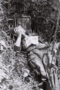 1970 US soldier of the 12th Cavalry Regiment, Vietnam