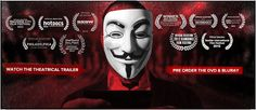 """""""WE ARE LEGION - THE STORY OF HACTIVISTS"""" - amazing new doc now on Apple TV - watch it - Rosie"""