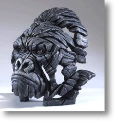 The Edge Gorilla Bust - Free Delivery - The Edge Sculptures