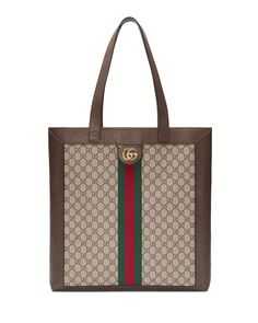 8c94a30a5cc Gucci Ophidia GG Supreme Jacquard Striped Tote Bag
