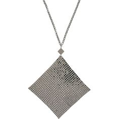 Bliss Necklace (4.765 RUB) ❤ liked on Polyvore featuring jewelry, necklaces, lead, bliss jewelry, clasp necklace, metal jewellery, bliss necklace and metal necklace
