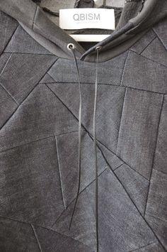 composición de tejido con formas- Trashion Helsinki -
