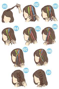 簡単可愛い女の子のヘアスタイル【子供】 - SHILASON Toddler Hair, Easy Hairstyles, Hair Styles, Beauty, Hair Kids, Hair Plait Styles, Easy Hairstyle, Hair Makeup, Hairdos