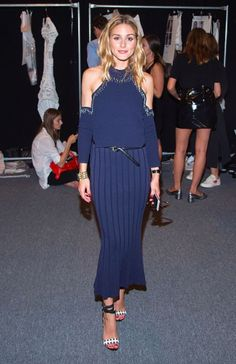 The Olivia Palermo Lookbook -Ê Olivia Palermo is seen at Jonathan Simkhai front row during September 2016 MADE Fashion Week: The Shows at The Arc, Skylight at Moynihan Station on September 10, 2016 in New York City.Ê