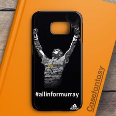 Andy Murray Tennis Champion Poster Samsung Galaxy S6 Edge Case | casefantasy