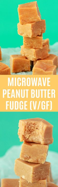 Super creamy and smooth microwave peanut butter fudge. This delicious fudge is ready in 10 minutes, vegan and gluten-free! Vegan | Vegan Fudge | Vegan Desserts | Vegan Sweets | Gluten-Free | Dairy-Free | #vegan #glutenfree #vegandessert #glutenfree #dairyfree | lovingitvegan.com