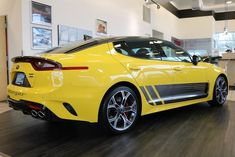 Ron Tonkin Kia has a large selection of Kia cars and SUVs for you to choose from, and our sales staff will help you find the one that most suits your needs! Kia Stinger, Good Looking Cars, My Ride, Luxury Cars, Motors, Cool Cars, Dream Cars, Super Cars, Automobile