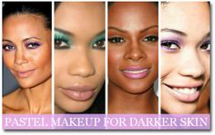 Pastel Makeup Tips for Darker Skin ~ The Asian Beauty Blog