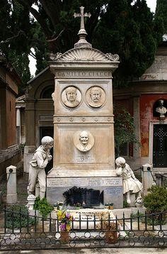 #ClosetSkellies Roma, Cemetery Campo Verano.