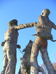3. Police Dog Attacking Child Sculpture at Kelly Ingram Park - Birmingham, AL