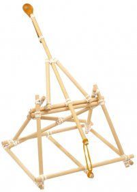 katapult uitdaging klas on pinterest catapult marshmallow catapult