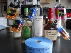Next party Raffle off some bottles. I attached shot glasses to each one. We do this for a yearly Fun Bus trip. Party Bus Games, Easy Birthday Party Games, Funny Party Games, Party Activities, Game Party, Stag And Doe Games, Stag Games, Thanksgiving Games For Kids, Drinking Games For Parties