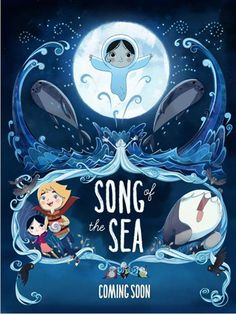 """S for """"Song of the Sea"""" - Tomm Moore (2015)"""