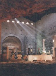 domitilla catacombes