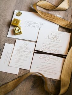 Ethereal Tented Wedding Inspired by the English Countryside - Inside Weddings Wedding Invitation Paper, Gold Invitations, Elegant Wedding Invitations, Wedding Paper, Wedding Picture List, Wedding Photos, Tent Wedding, Wedding Tables, Invitations