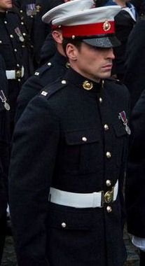 A Royal Marine.