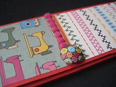 Covered mini notebook pad cover