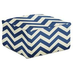Jolene Pouf in Navy