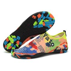 Men Quick Dry Elastic Fabric Swimming Non-slip Soft Fins Snorkeling Diving Shoes
