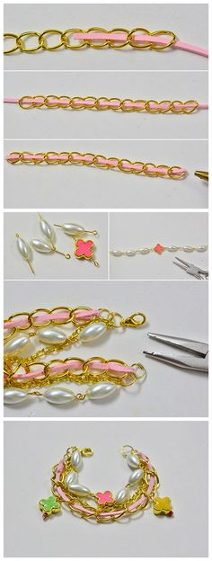 #Beebeecraft tutorials on making #suedecord #bracelet