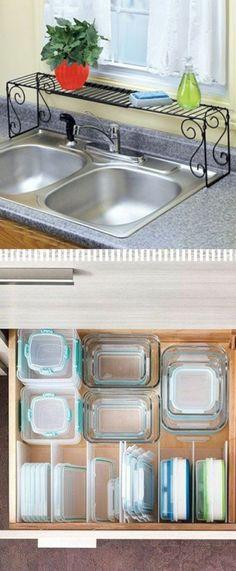 17 Easy DIY Kitchen Hacks for Organizing Stuff https://www.futuristarchitecture.com/27657-diy-kitchen-hacks.html