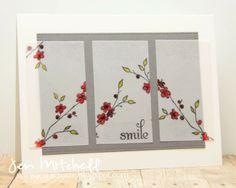 I Create, colourQ 223, jen-icreate.blogspot.com, smile card