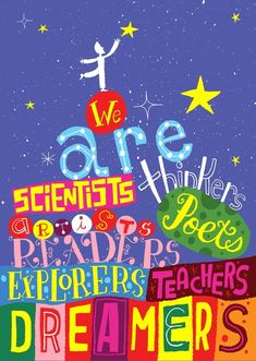 Scholastic Classroom Resources We Are Thinkers POP Chart Encourage your students to think, dream, and do their best with these inspirational POP! Charts measure 13 x Teaching Quotes, Education Quotes, Art Education, Classroom Supplies, Classroom Posters, Classroom Decor, Classroom Quotes, School Posters, Science Classroom