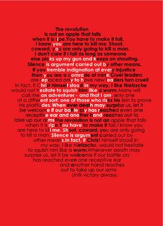 Che Guevara, Famous Quotes [Typography]