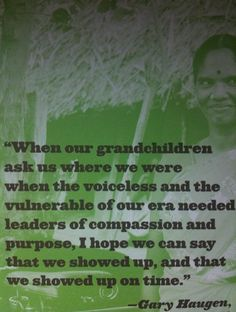 """When our grandchildren ask us.."""
