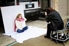 For Photographers: Make-shift Photography Studio