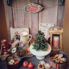2017. Miniature Christmas Set  ♡ ♡ By  Le Mini Di Claudia
