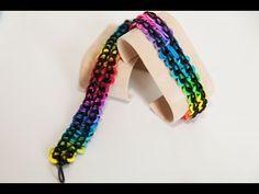 """Wie erstelle ich ein Rainbow Loom """"Double Infinity"""" Armband   Rainbow Loom Anleitungen"""