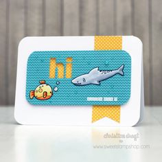 Fishy set by Sweet Stamp Shop, Available in Australia from www.dawnlewis.com.au