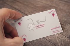 Winery business card Web Design, My Works, Business Cards, Playing Cards, Lipsense Business Cards, Design Web, Playing Card Games, Website Designs, Name Cards
