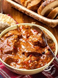 This Slow Cooker Chunky Beef & Potato Stew is a hearty, protein-packed dish that will warm your stomach and fill you for hours. Best Stew Recipe, Potato Stew Recipe, Beef And Potato Stew, Beef And Potatoes, Stewed Potatoes, Easy Stew Recipes, Beef Recipes, Cooking Recipes, Simple Recipes