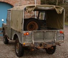 Land Rover Series One 86 Soft Top- MSA 165 1955 86""