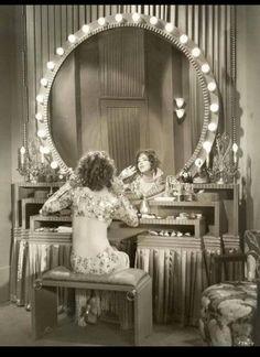 Back Stage Dressing Room