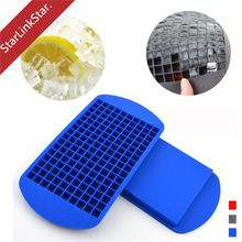 1pcs 160 Holes Craative Whiskey Ice Cube Maker Silicone Ice Cream Mould Makers Freeze Mold Party Bar(China (Mainland))