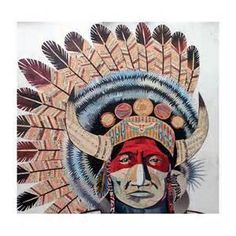 indian chief vintage art - Bing Images