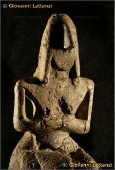 Parma, statuetta neolitica della dea Madre Terra,Vicofertile Parma