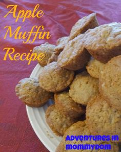 Apple muffin recipe - Adventures in Mommydom