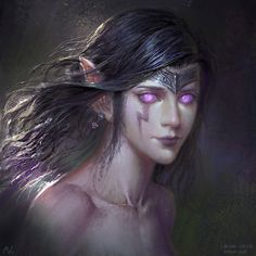 Morgana - League of Legends Morgana League Of Legends, Riot Games, Art Sites, Fantasy Illustration, Dark Ages, Fantasy Art, Avatar, Original Paintings, Scenery
