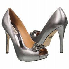 Badgley Mischka Goodie III Shoes (Pewter Metallic) - Women's Shoes - 10.0 M