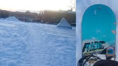 Watch this Swede going to shops – by snowboard (video)